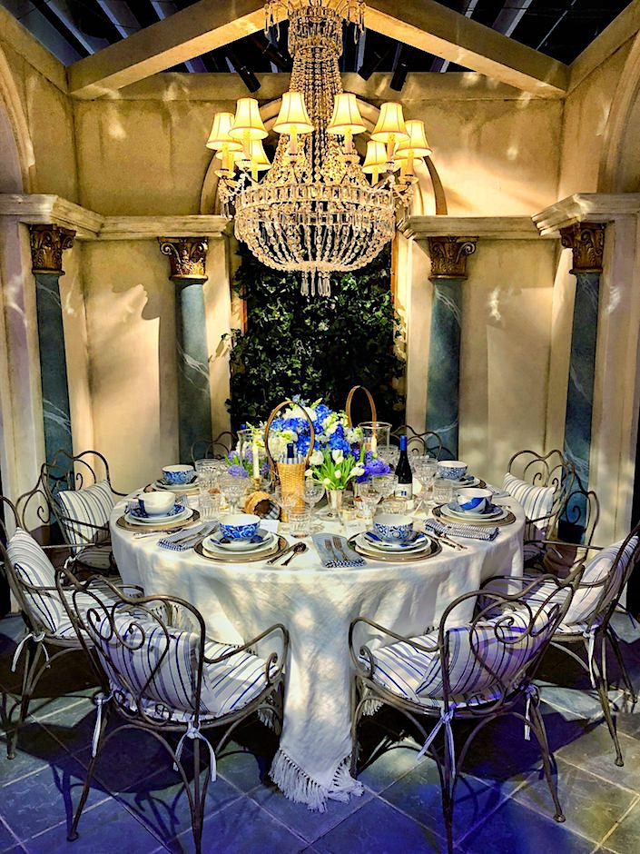 Ralph Lauren Dining by Design 2018 table