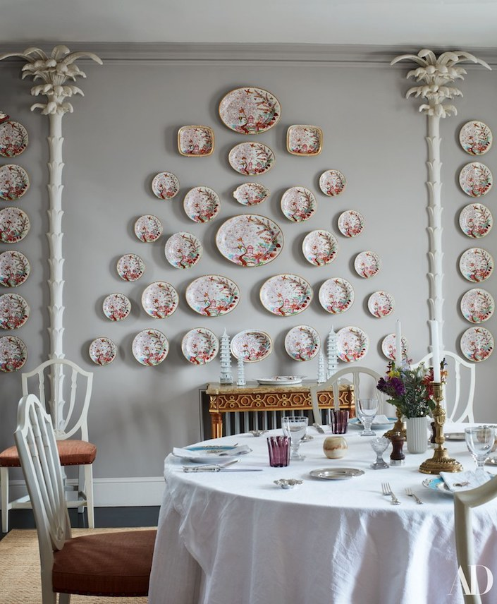 Veere Grenney Tangier dining room, photo by Simon Upton for AD