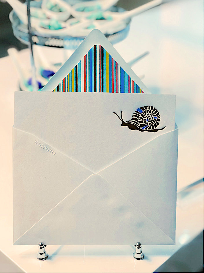 bell'INVITO snail mail cards at Bespoke Designs