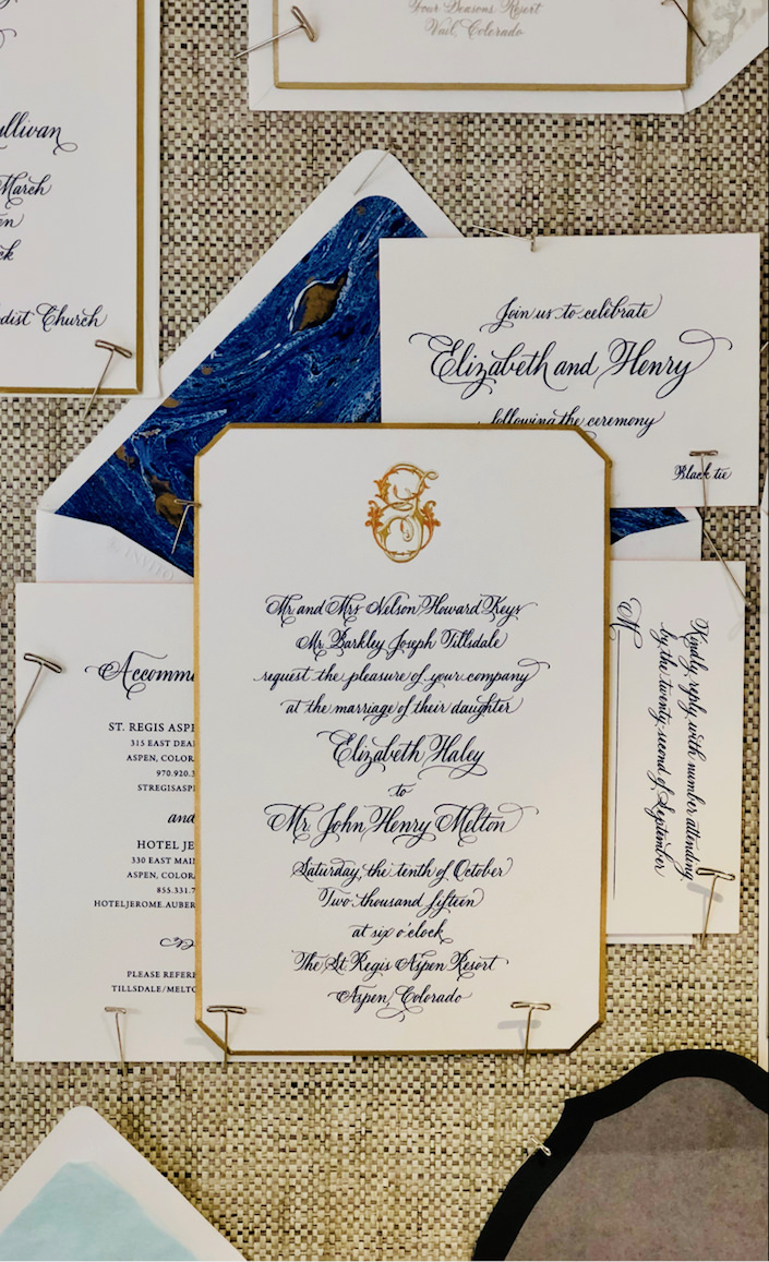 bell'INVITO wedding invitation at Bespoke Designs