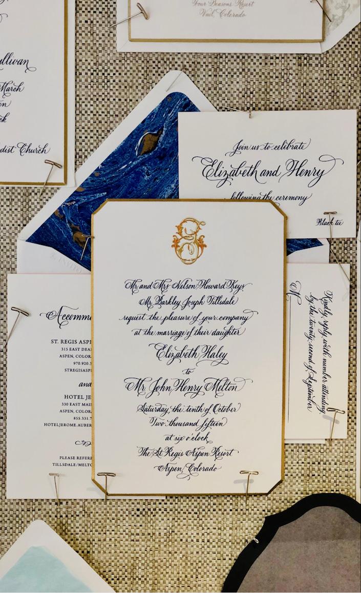 bell'INVITO wedding invitation at Bespoke Designs