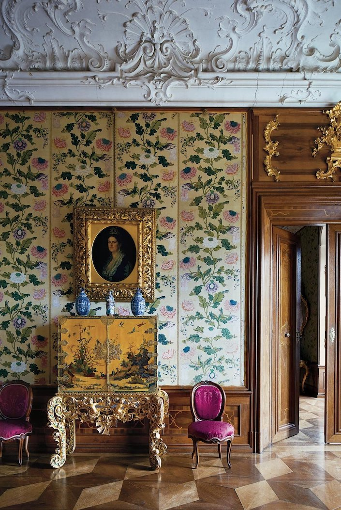 historic Schloss Hollenegg in Austria photo Simon Watson for T Magazine
