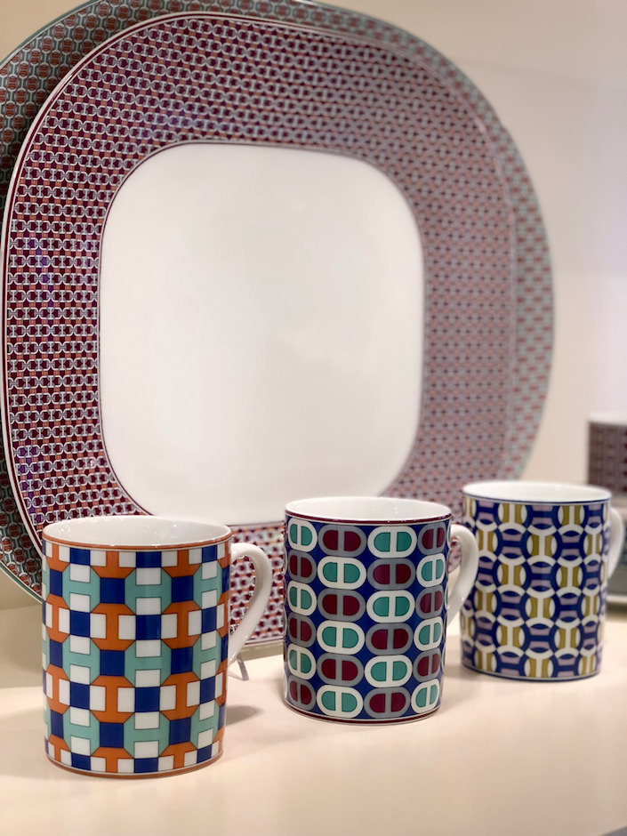 Hermes Tie-Set mugs