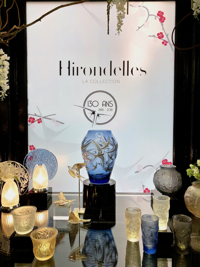 Lalique Hirondelles collection