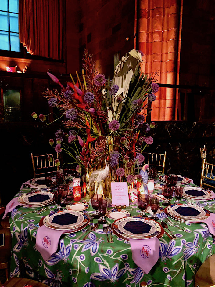 MA Allen Lenox Hill gala table