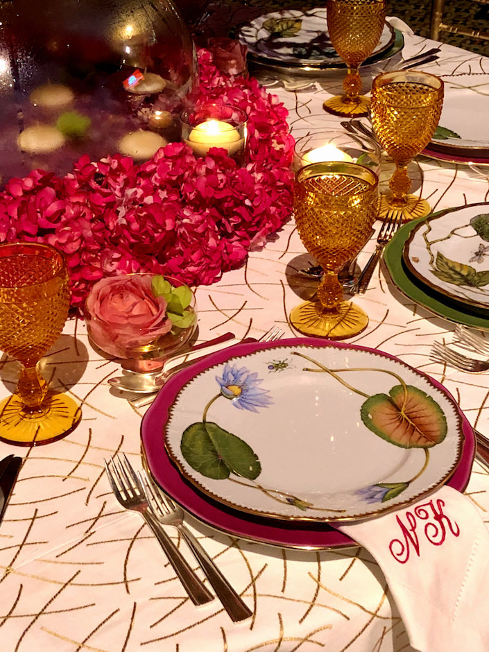 Natalie Kraiem Lenox Hill gala 2018 table