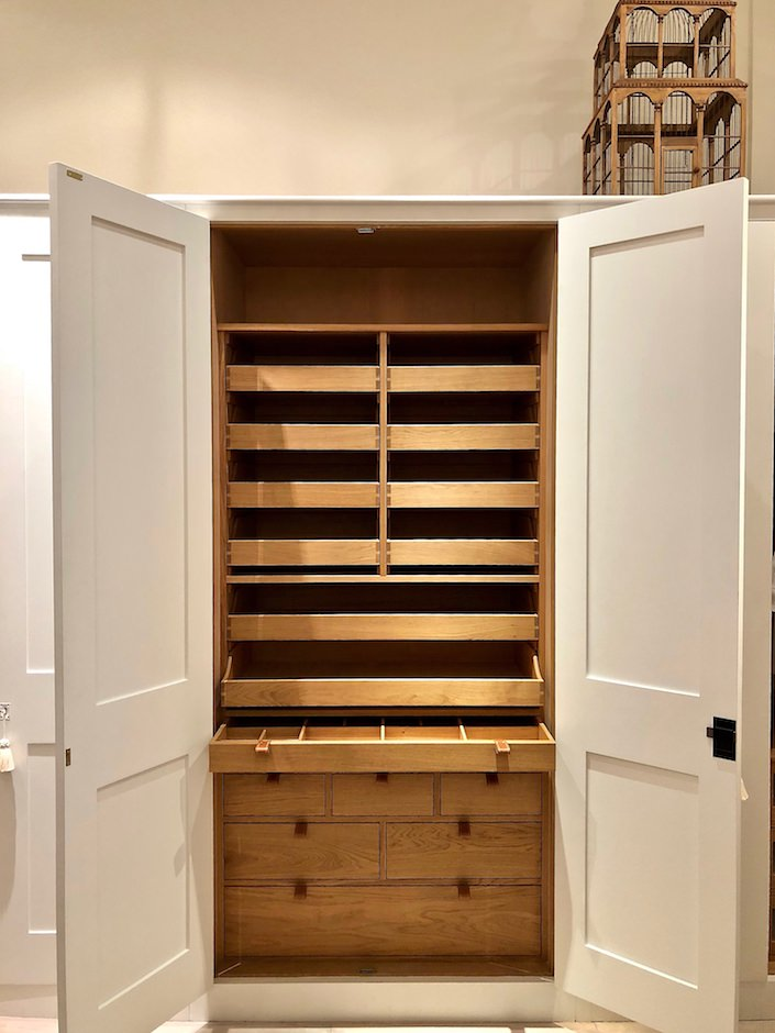 Plain English bedroom closet