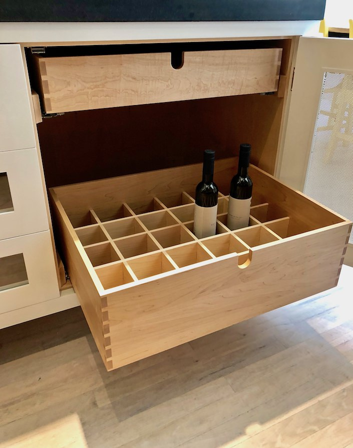 Plain English bottle drawer