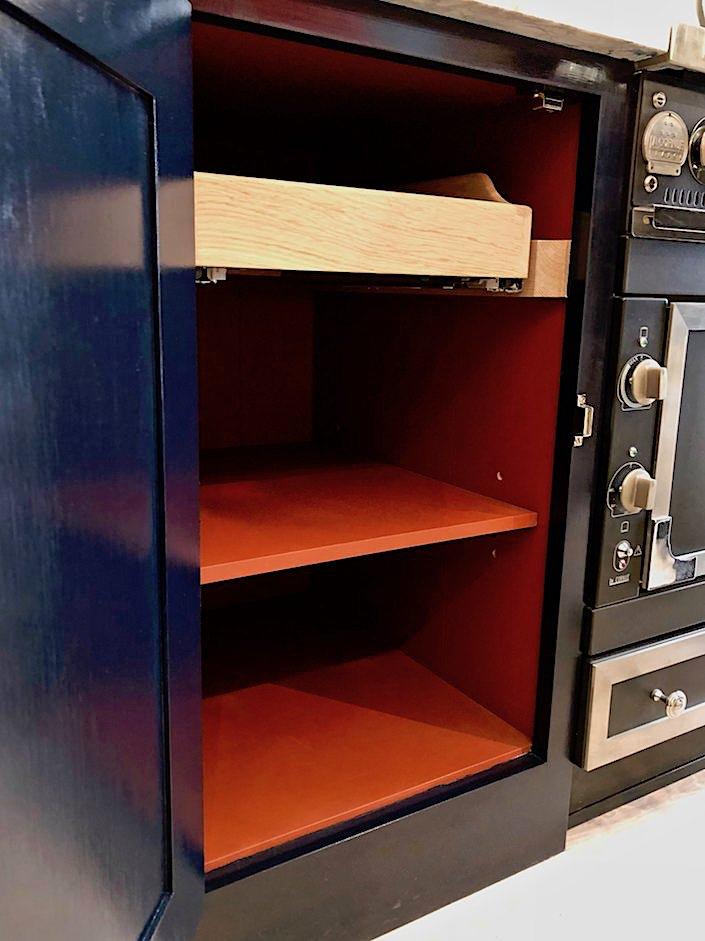 Plain English inside cabinetry