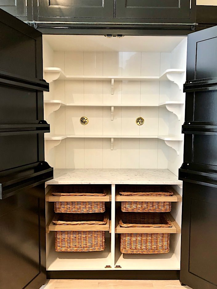 Plain English larder