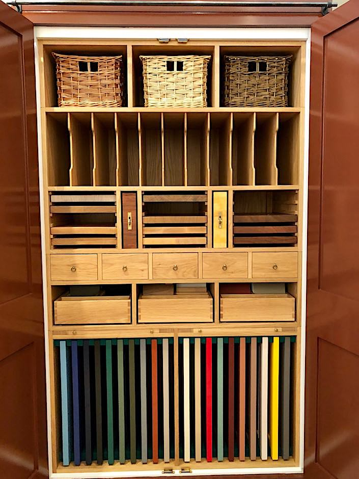 Plain English sample cabinet