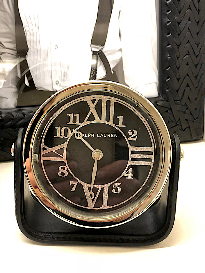 Ralph Lauren Home Brennan clock
