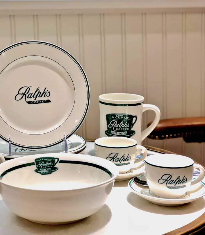 Ralph's Coffee Stoneware Collection