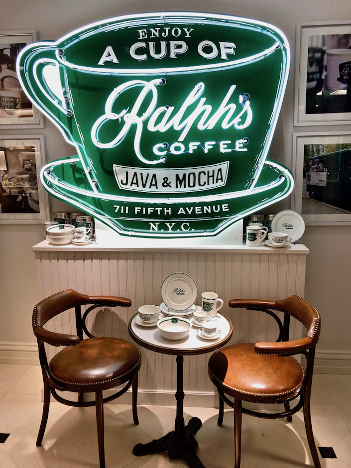 Ralph's coffee shop