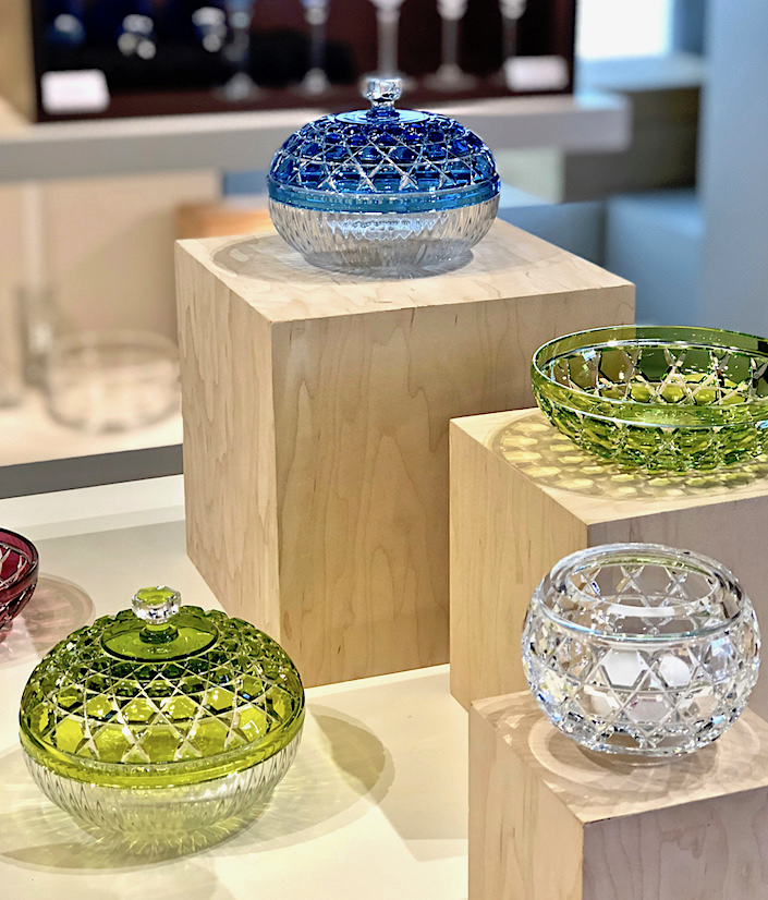 Saint-Louis crystal at 2018 Spring Tabletop