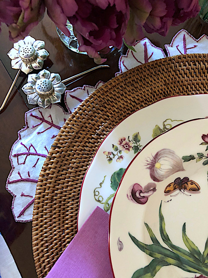 Setting the Table with Charlotte Moss video via Quintessence