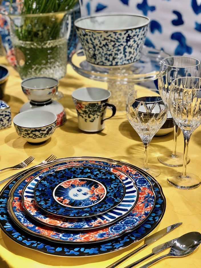 Vista Alegre Cannaregio at Spring 2018 Tabletop Market