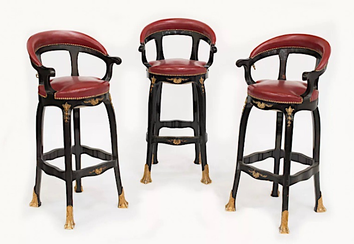 stools from the Ritz bar in Artcurial auction