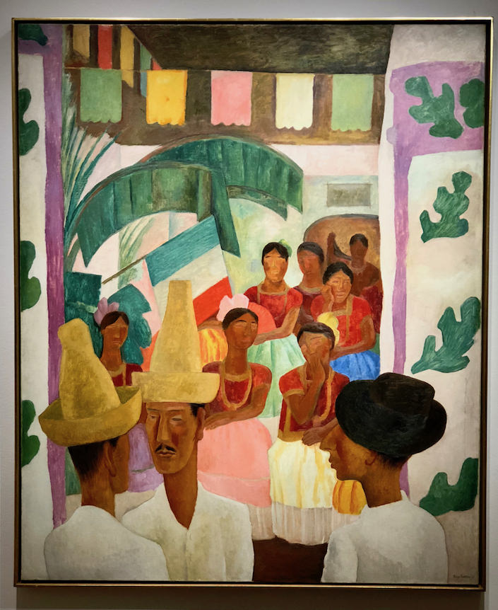 Diego Rivera The Rivals at Christie's Rockefeller auction