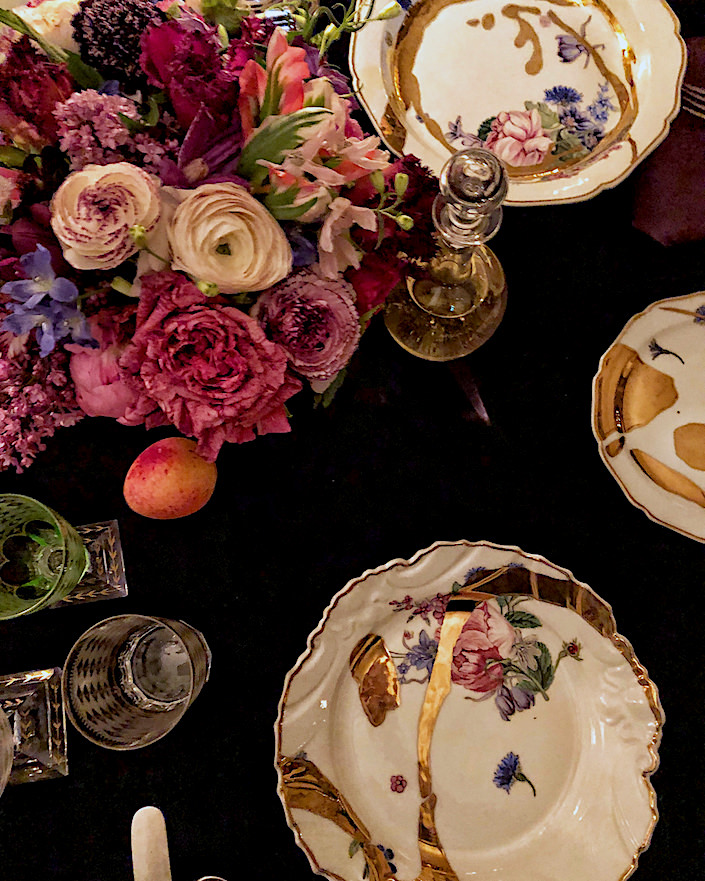 Jeffrey Bilhuber porcelain collection for de Gournay-2