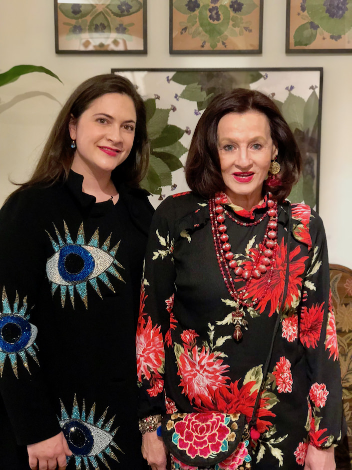 Kate Rheinstein Brodsky and Marian McEvoy