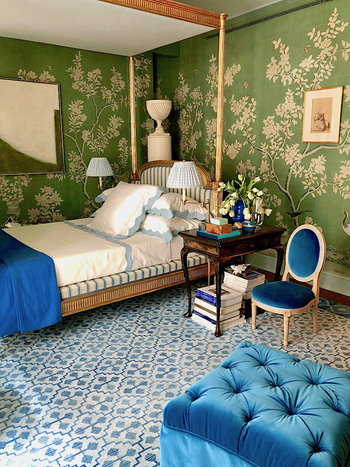 Mark Sikes Sleeping Beauty Kips Bay Bedroom