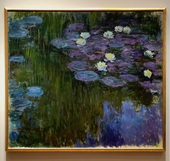 Monet Nympheas en fleur at Rockefeller auction