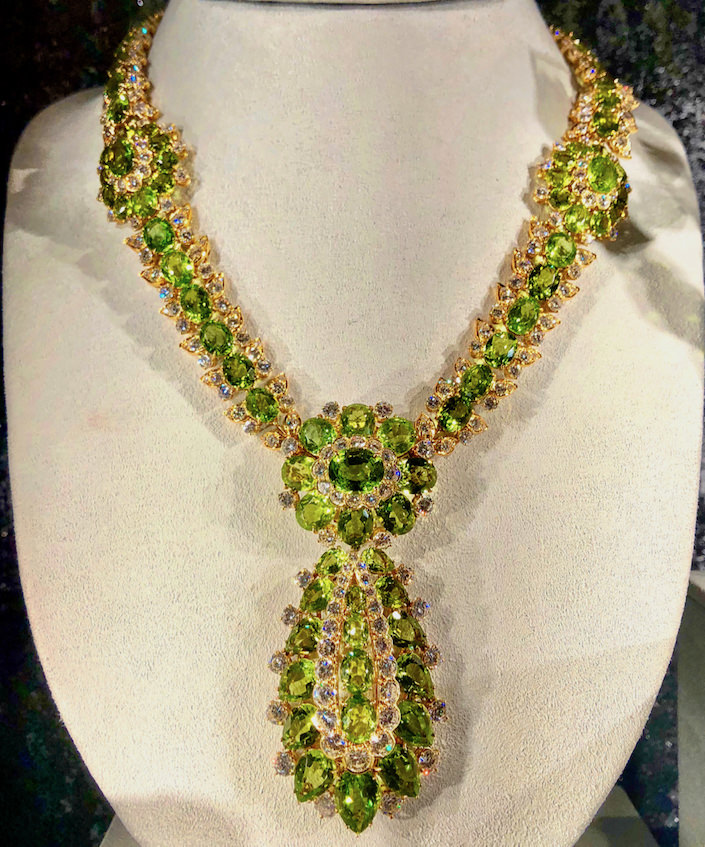 Peggy Rockefeller Van Cleef necklaCe at Christie's auction