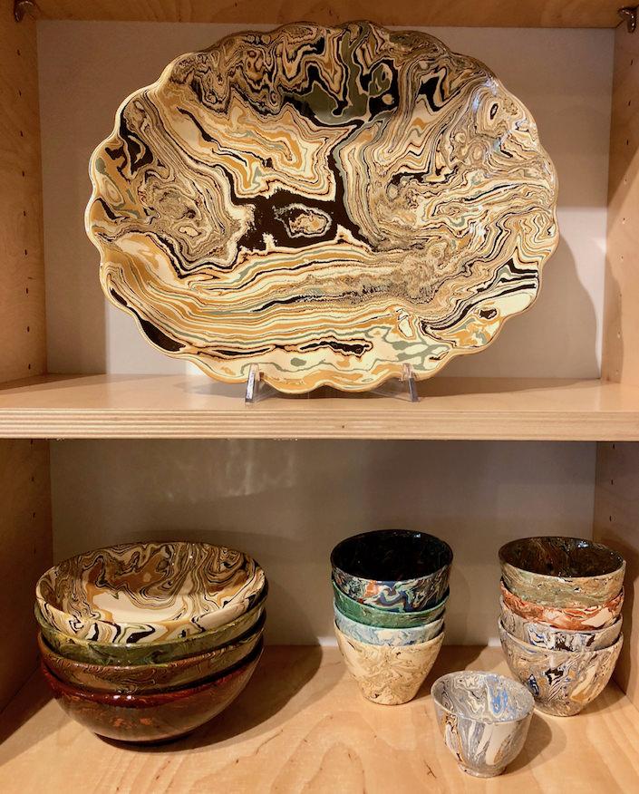marbleware at la tuile a loup