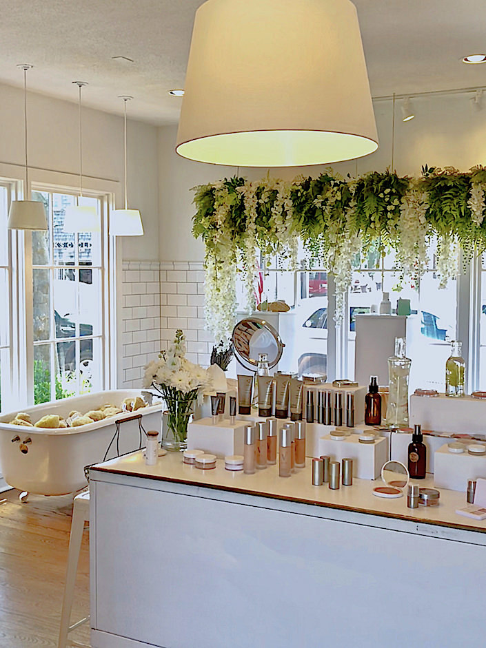 Follain Nantucket makeup counter