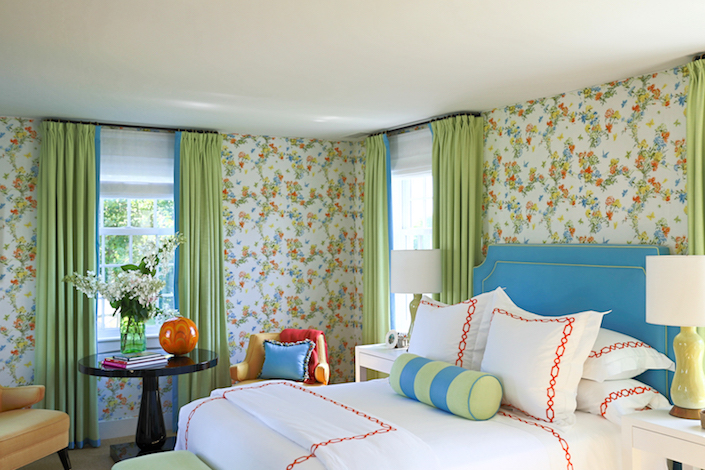 Gary McBournie Nantucket bedroom by Quintessence