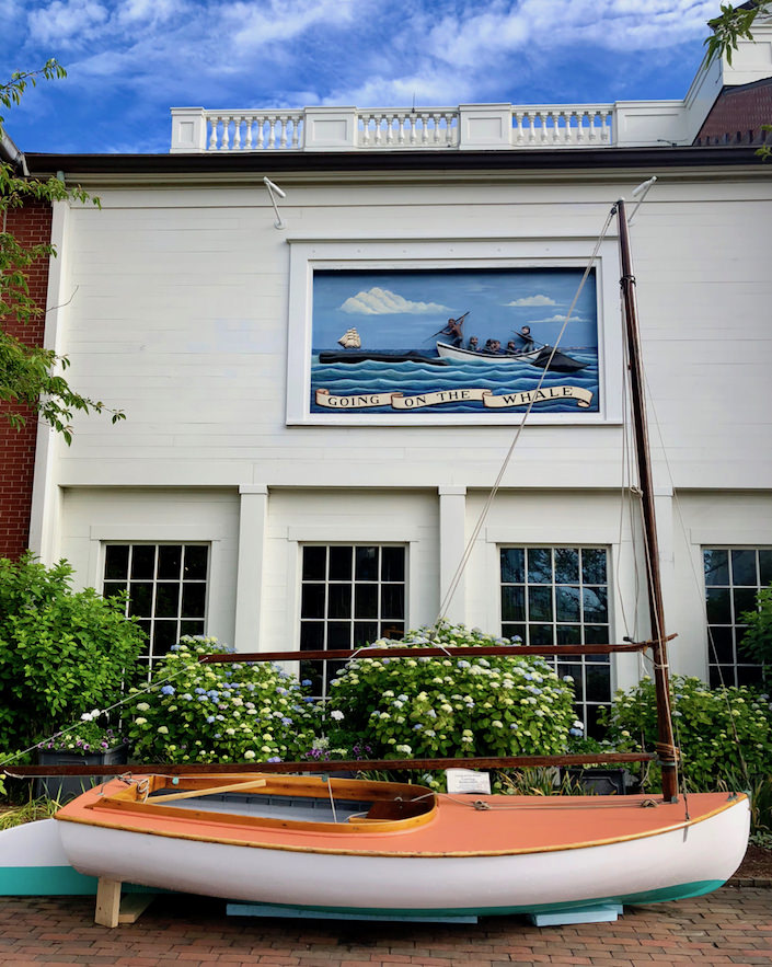 Maria Mitchell exhibit at the NHA Whaling Museum
