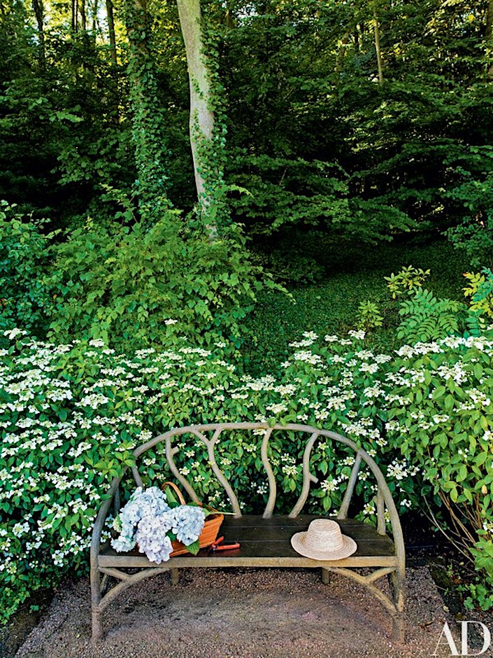 Pierre Berge Normandy garden by Madison Cox, photo Pascal Chevallier for AD