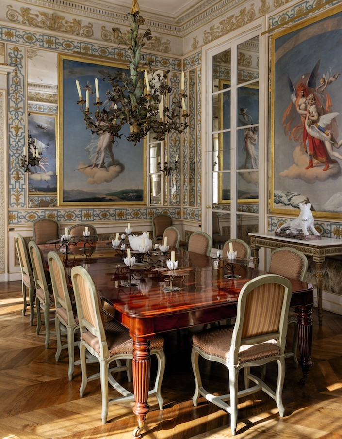 Pierre Berge Paris dining room