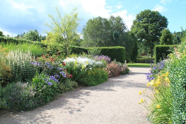 The Long Border at Rosemoor