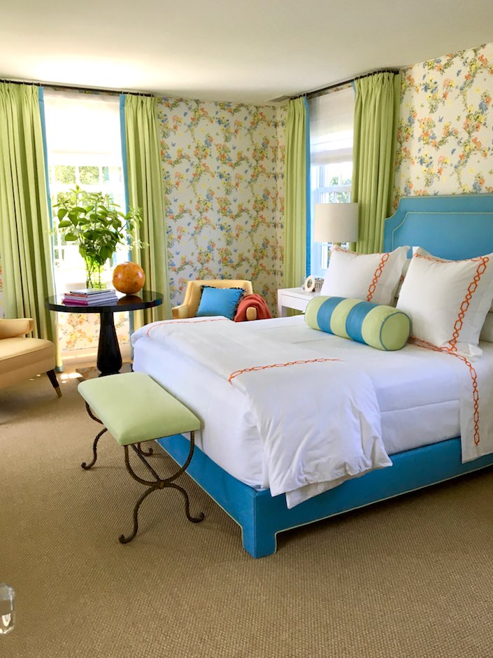 Gary McBournie Nantucket guest bedroom
