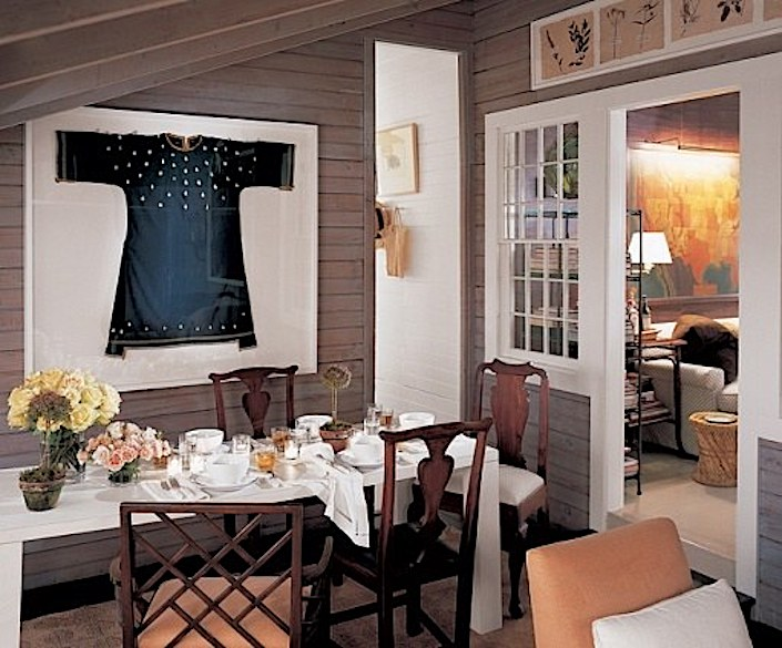 Jeffrey Bilhuber Nantucket dining room