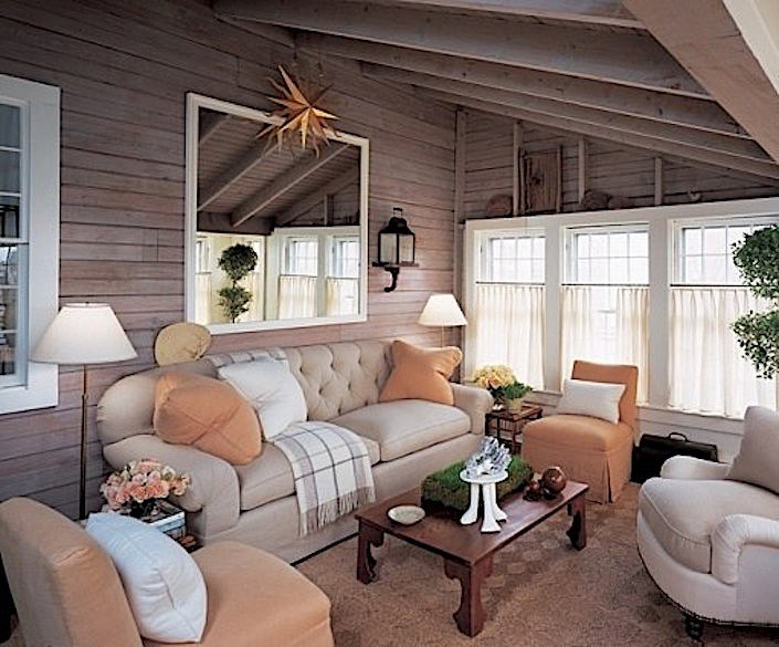 Jeffrey Bilhuber Nantucket living room