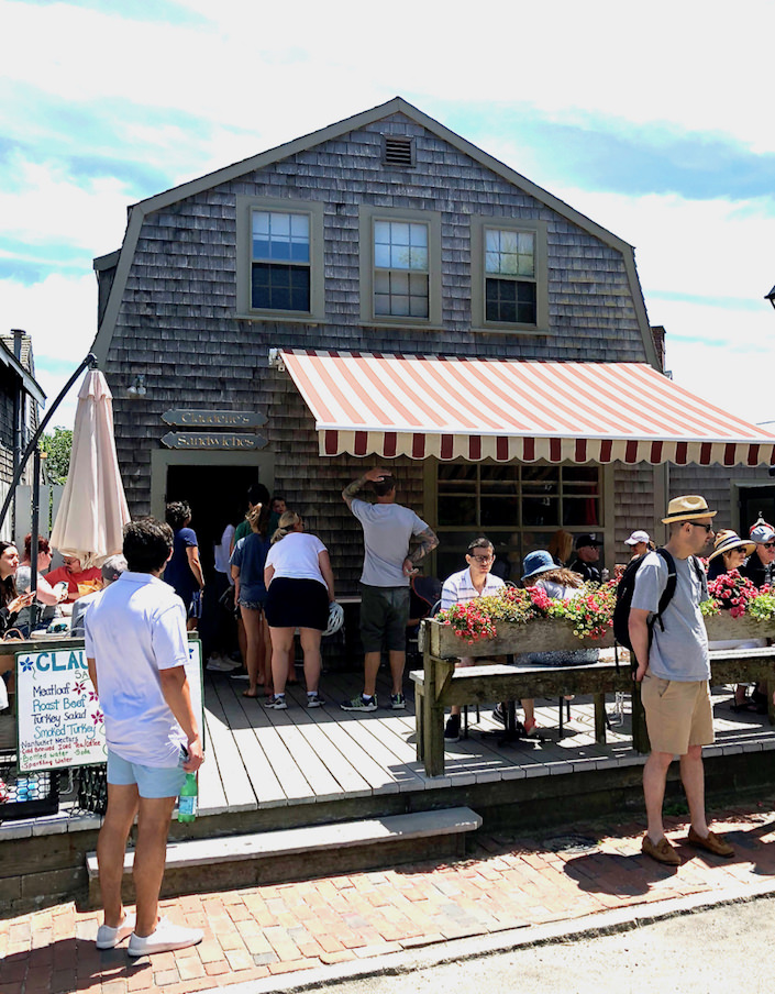 Nantucket Claudette's Sandwich shop