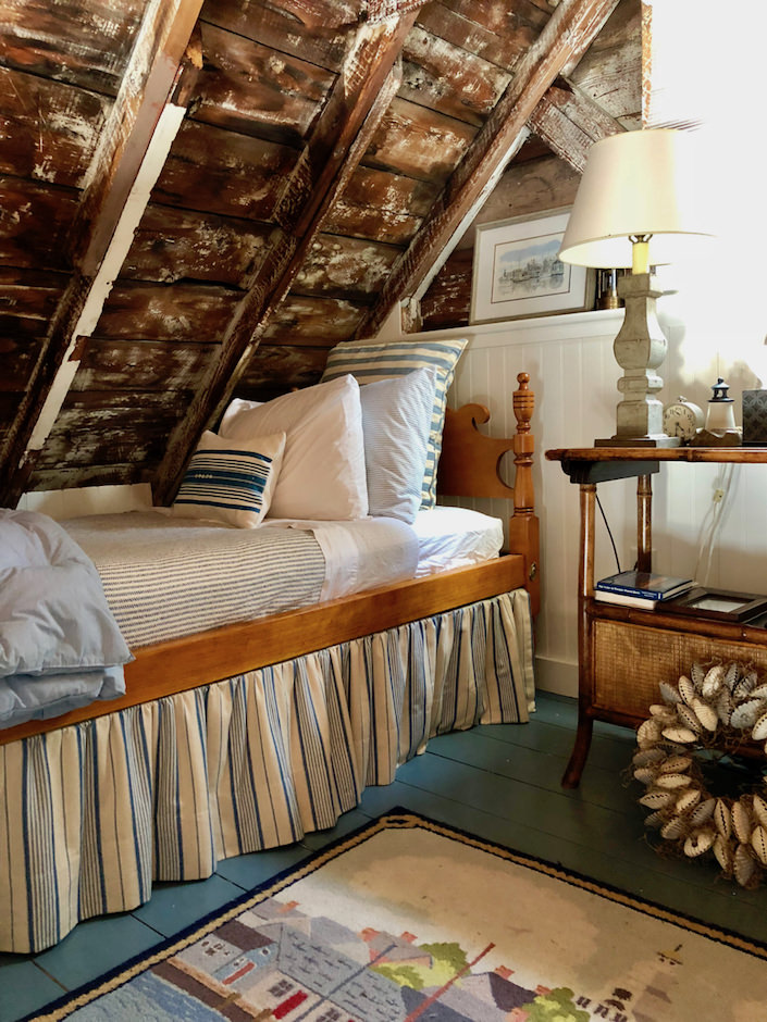 Nantucket boathouse sleeping loft