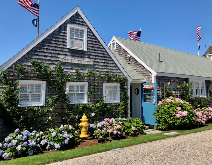 Nantucket boathouse