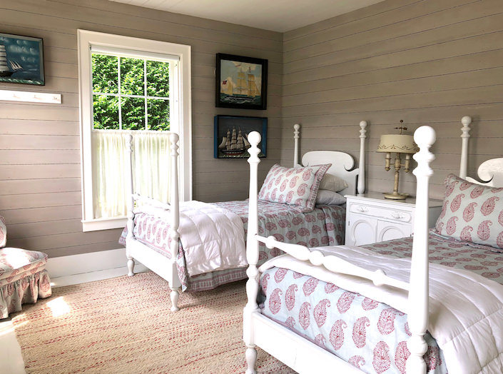 Nantucket guest house bedroom