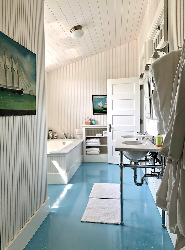 Nantucket guest house master bath 2
