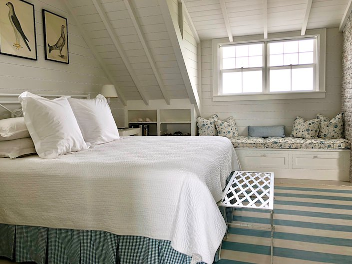 Nantucket guest house master bedroom 2