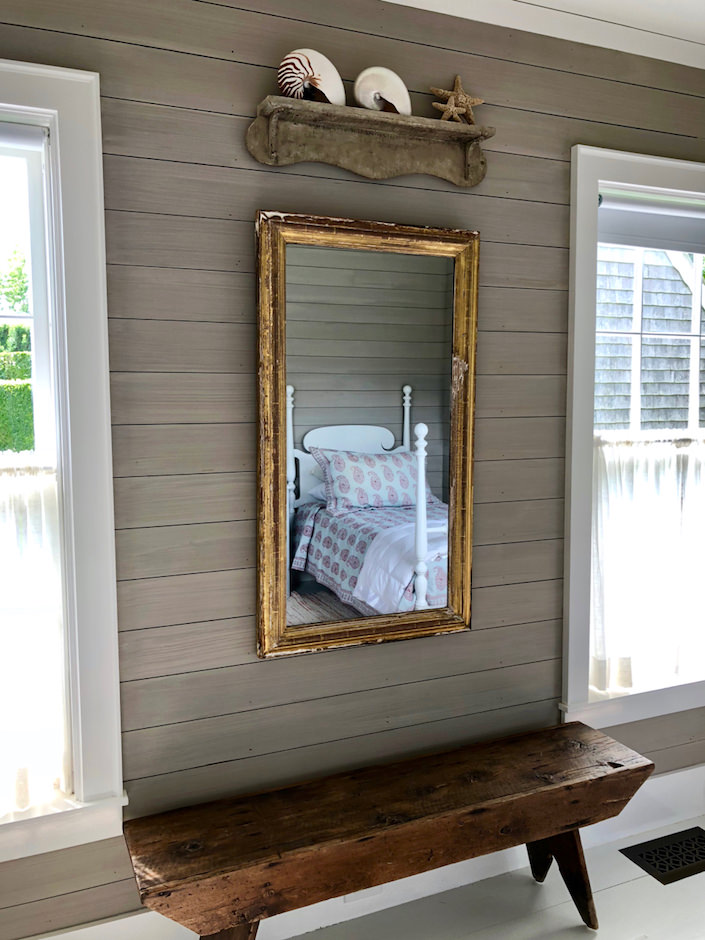 Nantucket guest house mirror