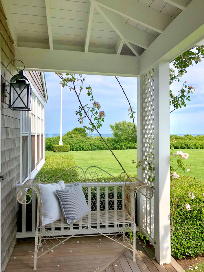 Nantucket guest house porch