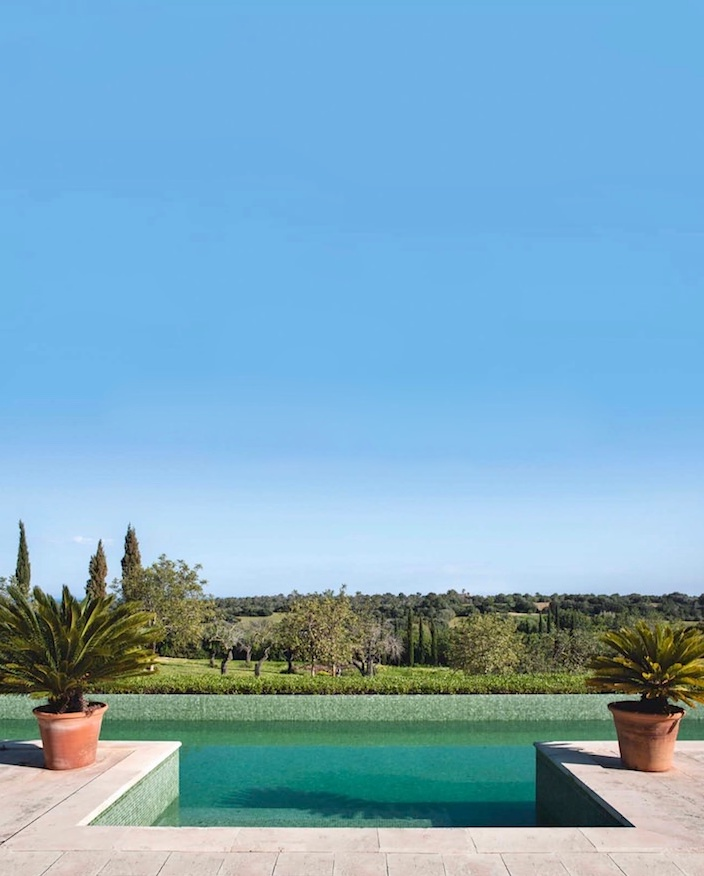 Pool on Mallorca, photo by Montse Garriga Grau for House & Garden UK 1