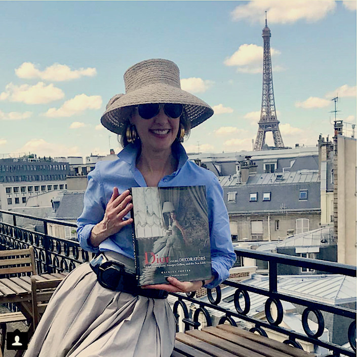 Maureen Footer in Paris