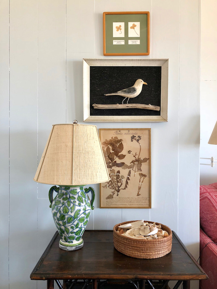 Nantucket Family room accessories