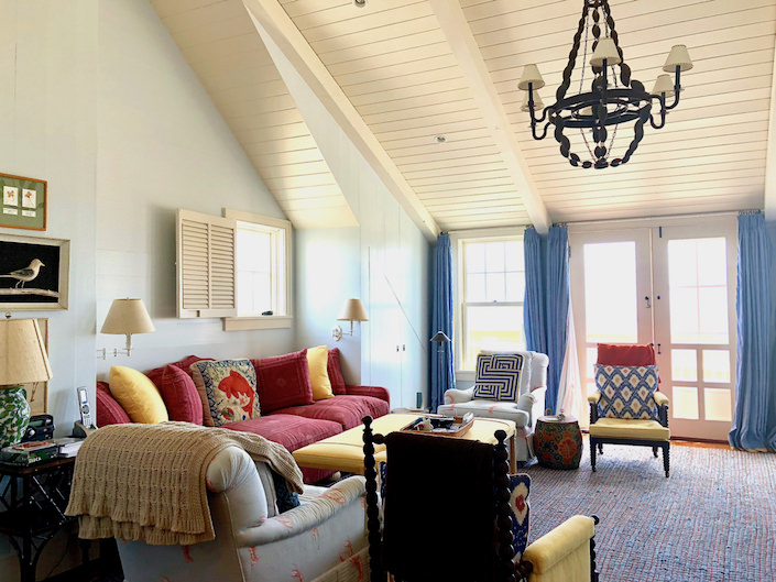 Nantucket upstairs sitting room